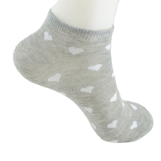 fashion women socks short dot socks women socks cotton high quality chausettes femme socks women meias feminino wholesale G
