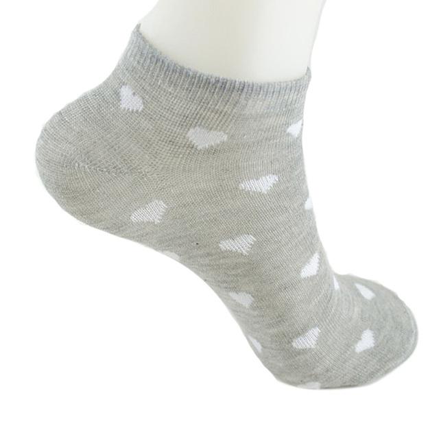 Women's Heart Cotton Socks