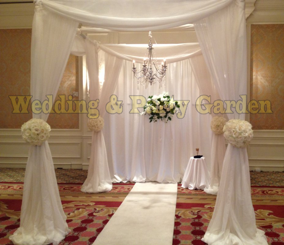 Wedding decoration wedding square pipe canopy/chuppah/arbor pipe ...