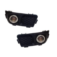 For Great Wall Voleex C10 White Angel Eyes DRL Yellow Signal Light H11 Halogen / Xenon Fog Lights Projector Lens E13