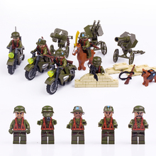 Купить с кэшбэком Doll 71005 Flying Tiger Attack Anti Japanes Expedition Military Weapons Toys For Children Building Blocks Legousi Bricks