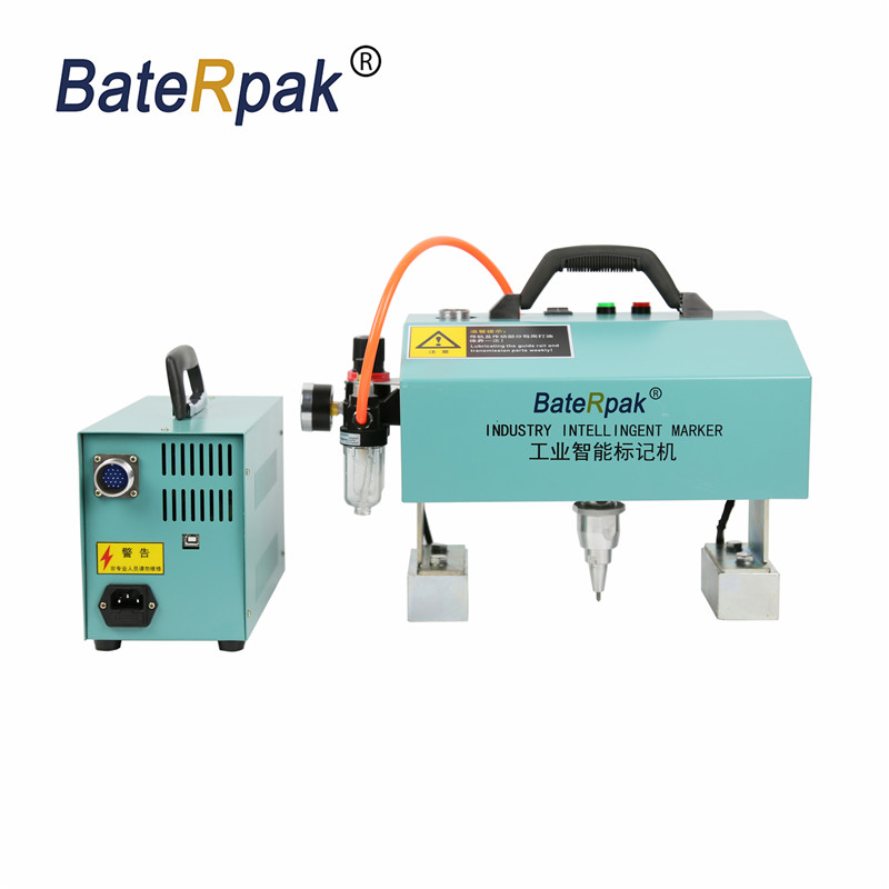 UK916 BateRpak Handheld pneumatic marking machine,Portable industrial tag/car chasiss number engraving machine 90*160mm цены онлайн