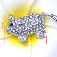 Fashion Pendant Animal Shape Keychain Cute Pig Keychain Allo