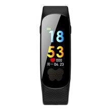 ECG + PPG B37 Tela Colorida Relógio Inteligente À Prova D' Água Heart Rate Monitor de Fitness Rastreador Pulseira Bluetooth para IOS Android