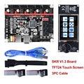BIGTREETECH SKR V1.3 32Bit Controller Drucker Bord + TFT24 Touch Screen + 5 pc TMC2208 TMC2209 UART TMC2130 spi MKS GEN L 3d teile