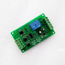 Two signal inputs / programmable control panel relay module trigger delay self-locking DC5/12/24V