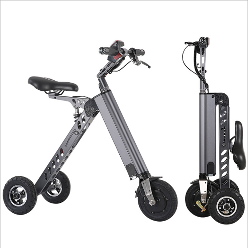 <font><b>Electric</b></font> <font><b>scooter</b></font> Citycoco <font><b>Electric</b></font> Bicycle 8 Inch <font><b>250W</b></font> Collapsible <font><b>Electric</b></font> Bike Portable Lithium battery for Adult image