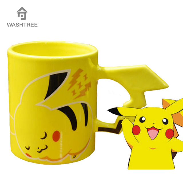 Pikachu Ceramic Coffee Mug Creative Mug