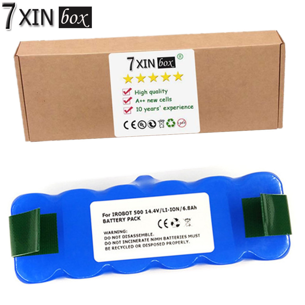 7XINbox 6800mAh Li ion Battery for iRobot 500 510 540 550 560 564 570 580 600