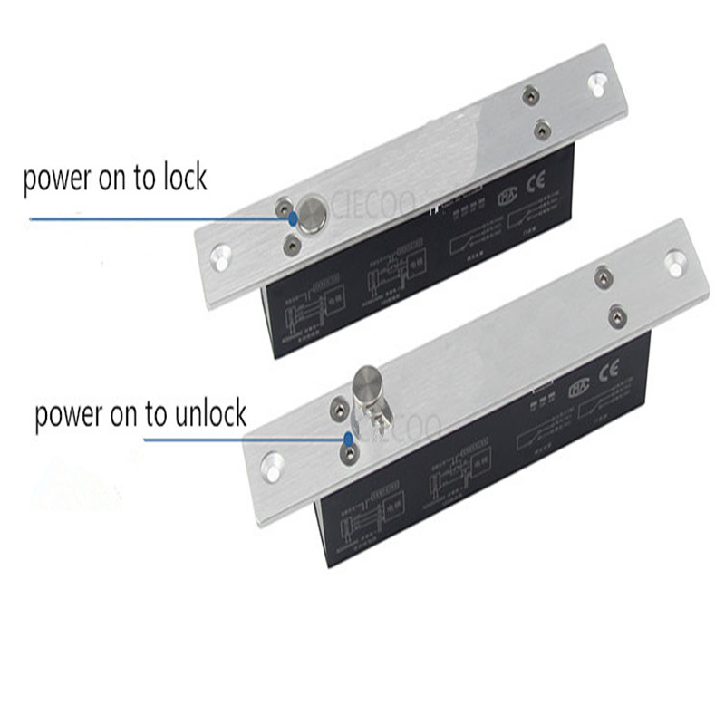 ФОТО 2000KG Holding Force Fail Safe NC Mode DC 12V Electric Bolt With Magnetic feature For Access Control  Security Lock