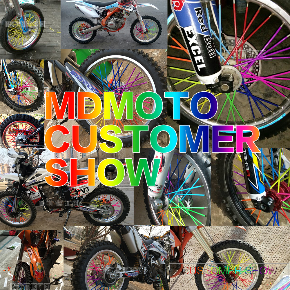 Motocross Dirt Bike Enduro Off road Wheel RIM SPOKE Shrouds SKINS For KTM duke tmax 500 yamaha suzuki gsx kawasaki honda Aprilia motocross dirt bike enduro off road wheel rim spoke shrouds skins covers for yamaha yzf r6 2005 2006 2007 2008 2009 2010 2011 20