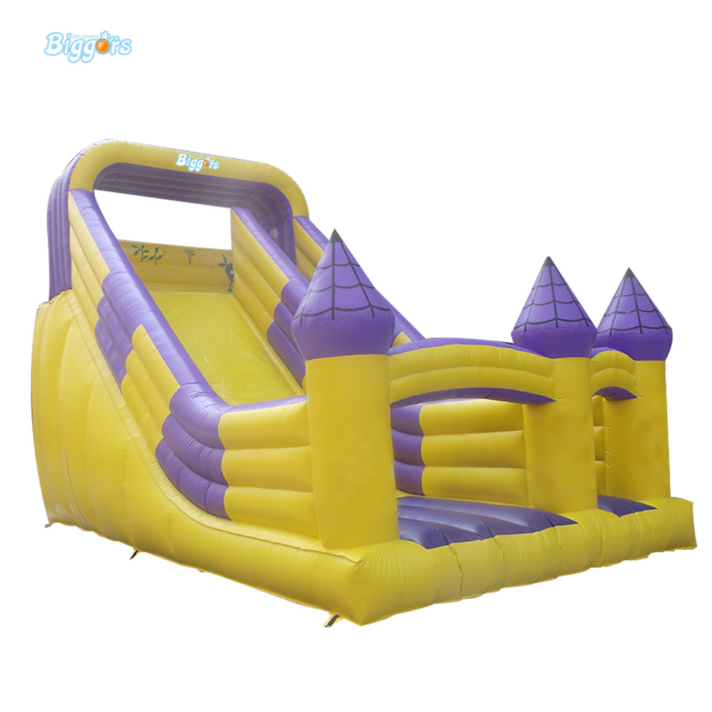 Sea Shipping Cheap Price Durable Inflatable Wet Slide Water Slide With Repair Kit And Blower