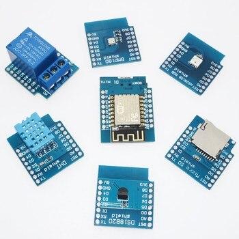 D1 mini zestaw Mini NodeMcu 4M bajtów Lua WIFI Internet rzeczy rozwoju płyta oparta ESP8266 przez WAVGAT