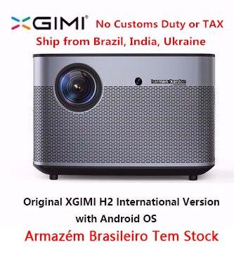 D'origine XGIMI H2 Projecteur Home Cinéma 300 Pouces 1080 P Full HD 3D Android Bluetooth Wifi Suppor4K DLP TV Beamer