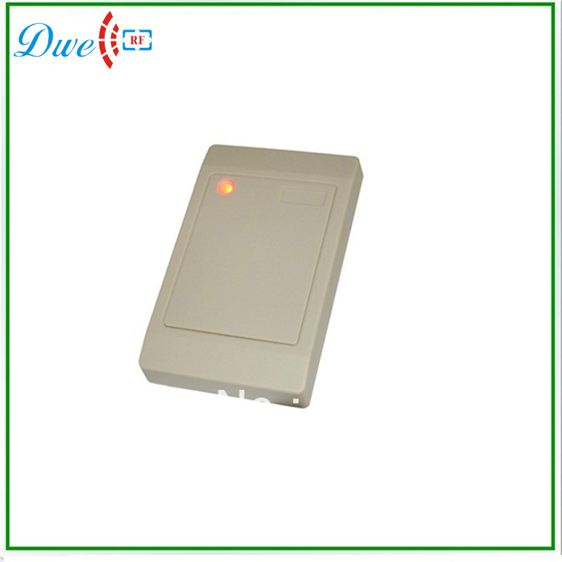 Free Shipping  rfid 13.56mhz reader for card access control system weigand26 rfid card access control card reader 125khz smart card reader for access control system cheap price free shipping