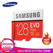 SAMSUNG Memory Card micro sd 32GB 64GB 128GB  256GB EVO Plus Class10 Waterproof TF Memoria Sim Card For smart phones
