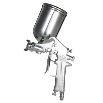 PISTOLA DE PULVERIZACIÓN de aerógrafo de 400 ML, pistola de pintura de alimentación por gravedad, Juego de cepillos de aire, boquilla de acero inoxidable, pintura para autos para reparación de manchas
