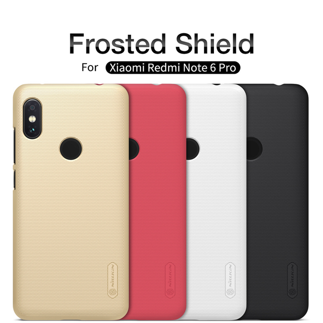 Nillkin Redmi Note 6 Pro Frosted Hard PC Back Case Cover