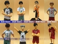 14-17cm original high quality Japanese anime figure haikyuu action figure kids toys for girls