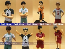 14-17cm original high quality Japanese anime figure haikyuu action figure kids toys for girls