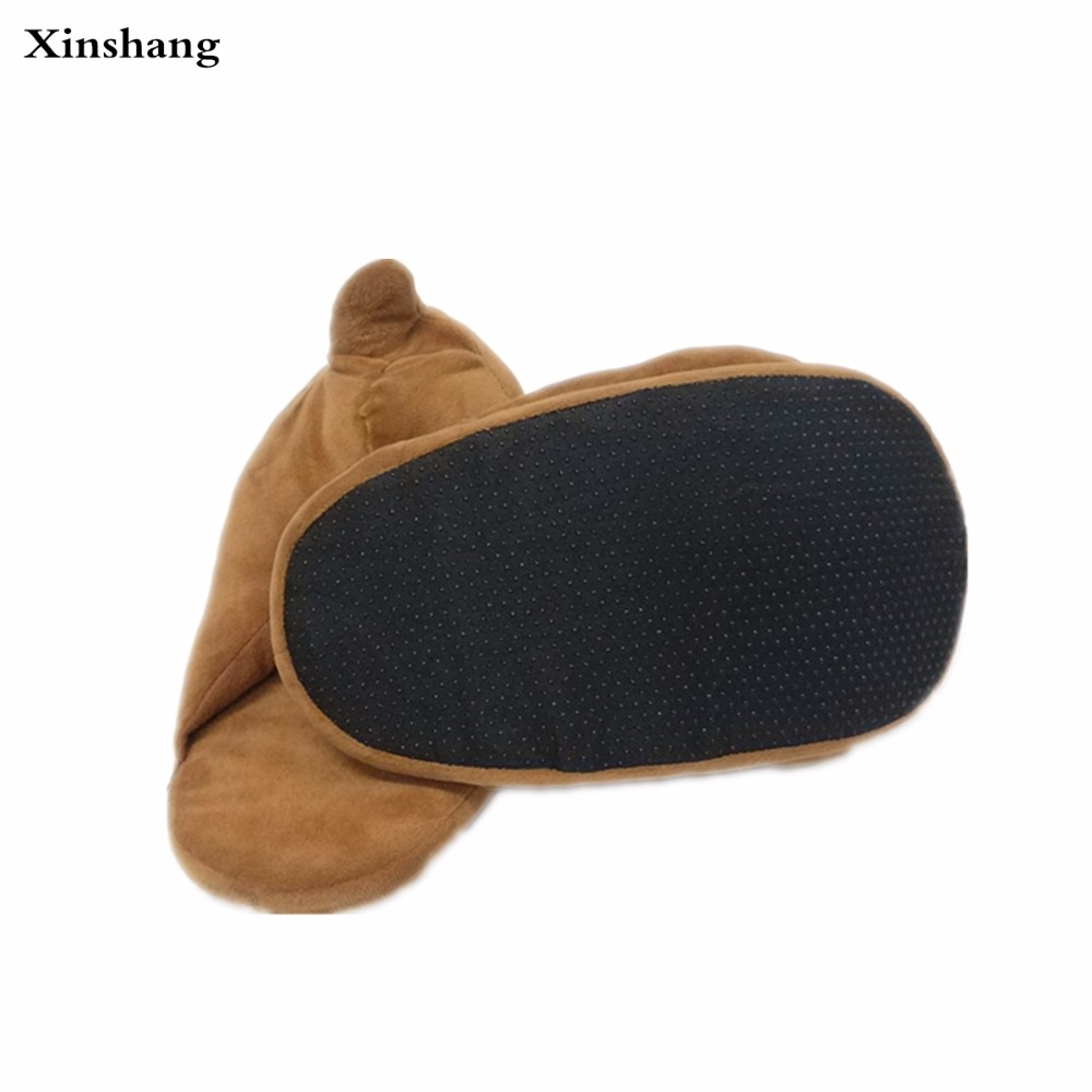 plush winter slippers indoor animal emoji furry house home with fur flip  flops women fluffy rihanna slides fenty shoes-in Slippers from Shoes on ... 969d63e57