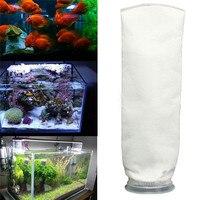 150 200um Fish Tank Micron Filter Sock Aquarium Marine Sump Dry Wet Separation Filter Bag Bracket