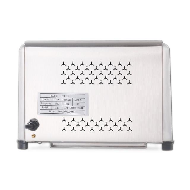 ITOP Stainless Steel 4 Slices Toaster Machine Breakfast spit driver Breakfast Machine baking bread maker sandwich heater 3