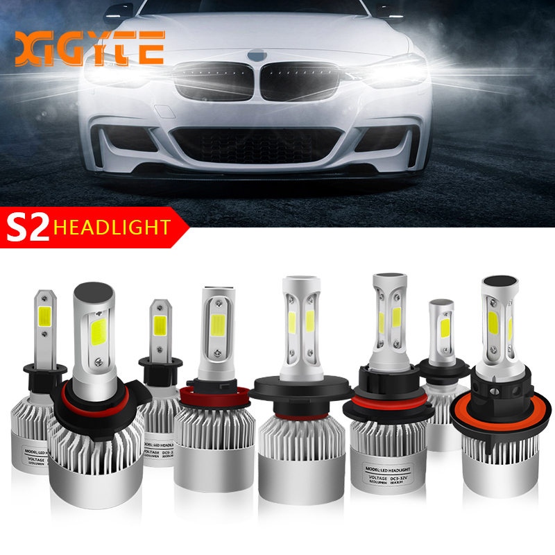 Car Styling Auto Bulbs LED H7 H4 H11 H1 H3 H13 880 9004 9005 9006 9007 9003 HB1 HB2 HB3 HB4 H27 LED Car Headlights Accessories luces led para auto h4 h7 h1 h13 9005 9006 led car headlights bulbs car led h11 8000lm cold white 72w car styling w5w t10 lights