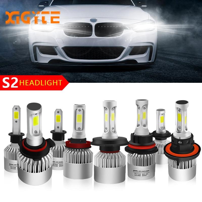 Car Styling Auto Bulbs LED H7 H4 H11 H1 H3 H13 880 9004 9005 9006 9007 9003 HB1 HB2 HB3 HB4 H27 LED Car Headlights Accessories new 2pcs 12v car headlight h4 led h7 h1 h11 hb1 hb2 hb3 hb4 hb5 9003 9004 9005 9006 9007 fog bulbs 80w 12000lm 6500k light bulbs