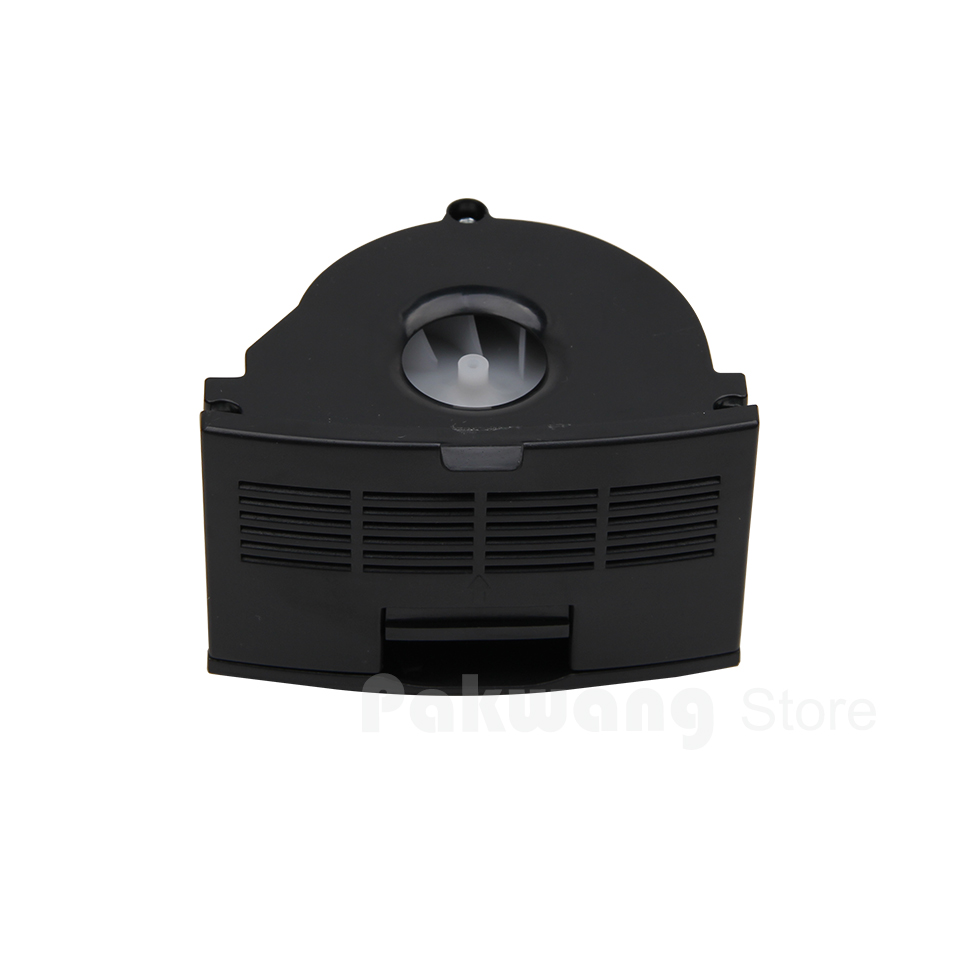 Dustbin Fan Black  1 pc of XR510  Robot Vacuum Cleaner Spare Parts and Accessories short uv lamp of wp601 accessories of vacuum cleaner