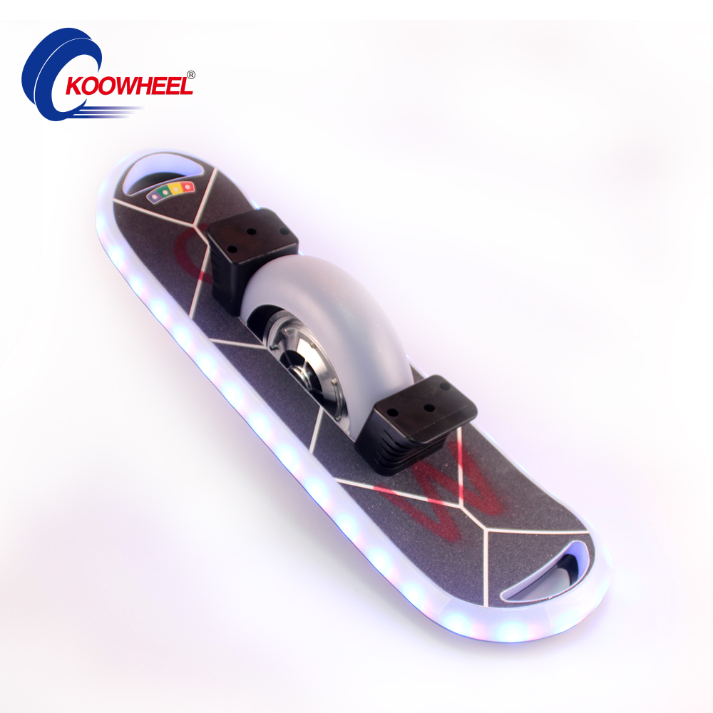 New Koowheel 10inch Self Balance Scooter with Bluetooth Speaker,one wheel Music LED Bluetooth Hoverboard Skateboard DE USA Stock