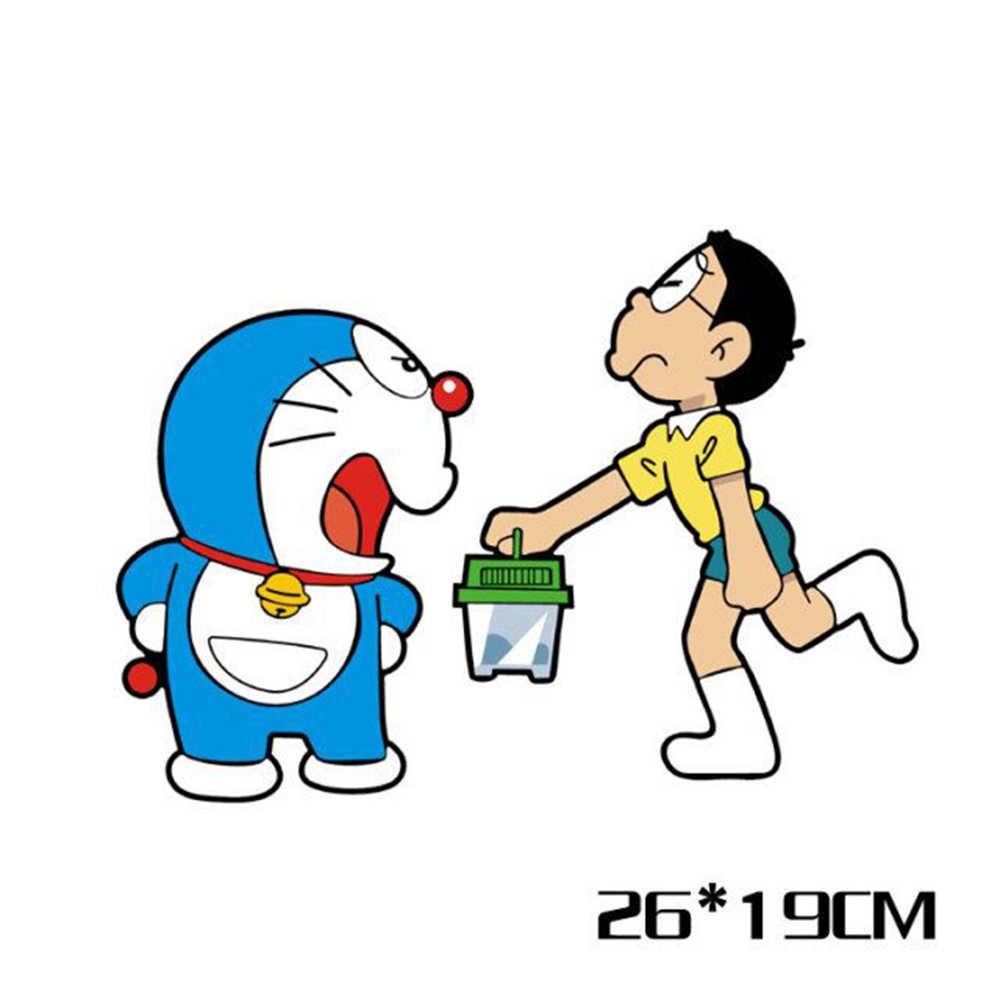 Mobil Doraemon Dan Nobita Styling Mobil Lucu Stiker Kartun Decal Untuk Volkswagen Polo Golf 4 5 6 7 Peugeot 307 Mazda 3 Kia Opel