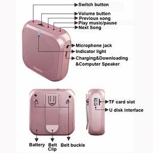 Image 5 - Rolton K400 Tragbare Verstärker Stimme Megaphon Booster mit Wired Mikrofon Lautsprecher Lautsprecher FM Radio MP3 Lehrer Ausbildung