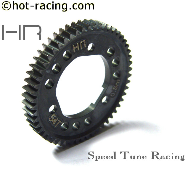 Steel Spur Gear 48T~54T 0.8 Metric Pitch for Traxxas Slash 4x4 and Stampede 4x4 with center diff стоимость