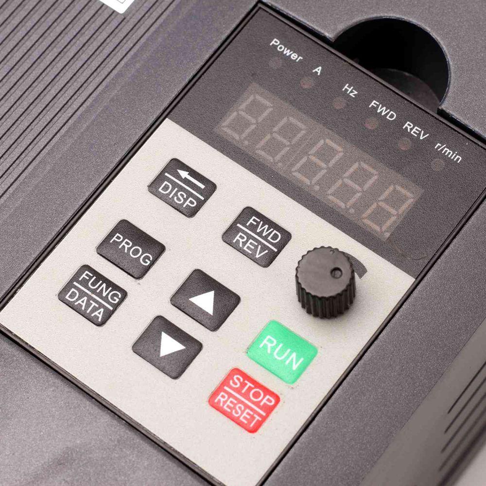 VFD onduleur 1.5KW/2.2KW/4KW convertisseur de fréquence ZW-AT1 3 P 220 V/110 V sortie CNC moteur de broche contrôle de vitesse convertisseur VFD - 4