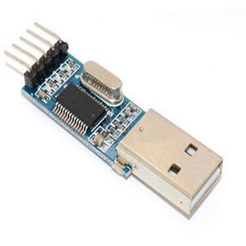 1pcs USB to TTL / USB-TTL / microcontroller programmer / PL2303 in nine upgrades plate with a transparent cover PL2303HX