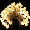 50 Led de Cuerda Luces Decorativas Con Pilas de La Boda Garland Decoración de Navidad Al Aire Libre
