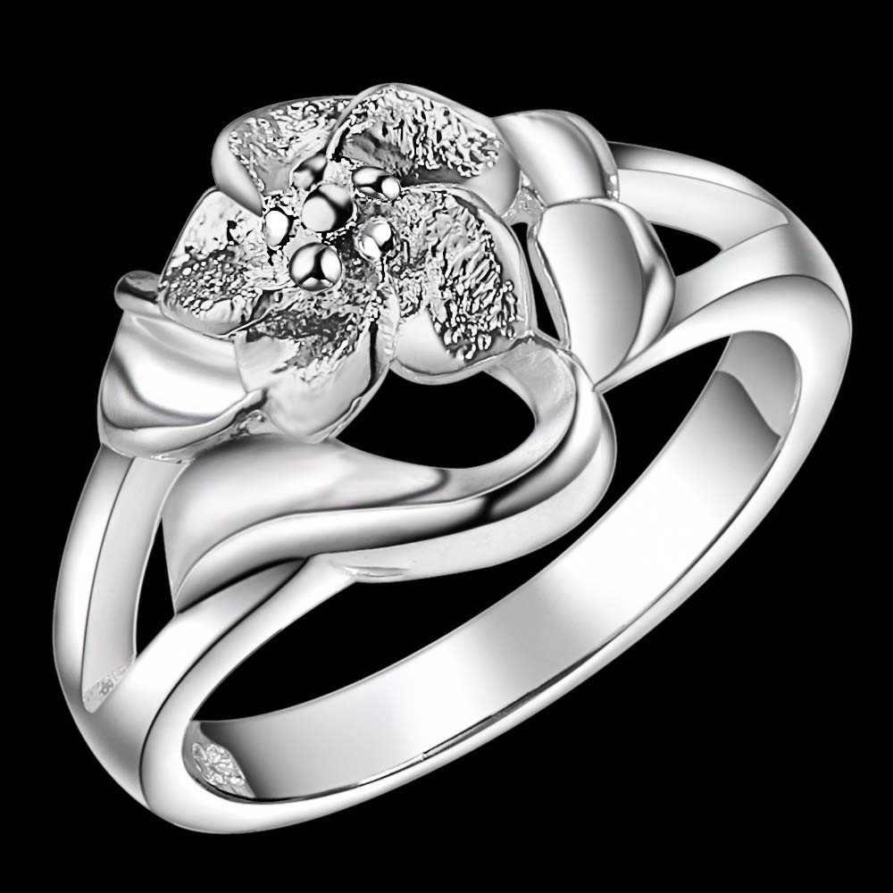Cool สัตว์ขายส่งเงิน 925 แหวนแฟชั่นเครื่องประดับแหวนผู้หญิง/CRVNWKVW VGXGQCRO
