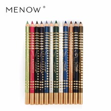 Menow Eye Makeup 12 Colors Set Eyeliner Long Lasting Eye Liner Pencil Waterproof Eyeliner Smudge Proof