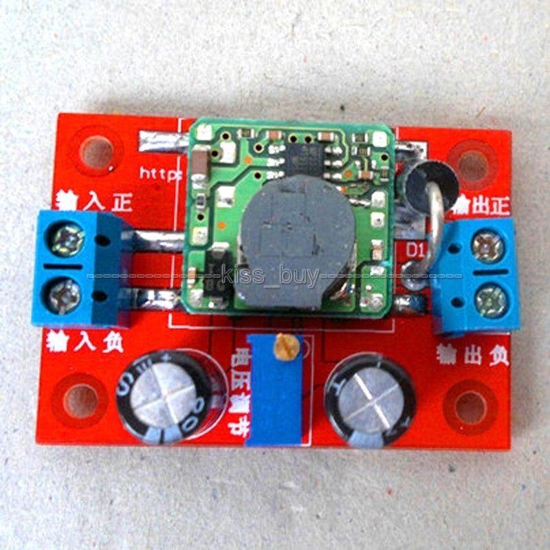 6V-12V 4A Solar Charge Controller Battery Charger Backflow Power Module Input :4.75-23V Output: 0.93V-18V Adjustable Step-down