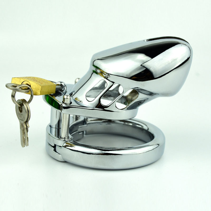 New style stainless steel for Male Chastity Device...
