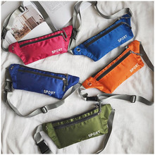 Men Women Waist Packs Bags Female Belt Fashion Chest Phone Pouch Multifunctional Sports Clutch