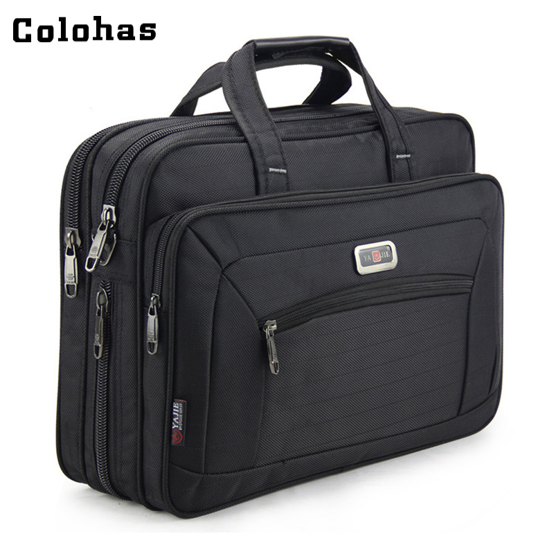 Men Black Business Travel Briefcase 15 inch Laptop Computer Notebook Handbag Single Shoulder Messenger Bag Portfolio for Macbook воблер tsuribito super shad длина 6 см вес 6 5 г 60f 058