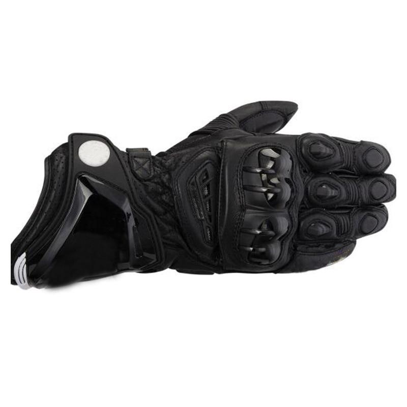 Moto en cuir véritable longs gants Moto GP M1 course conduite PRO gants de vachette