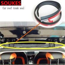 1.5M Rubber Car Sticker Trunk Bumper Sound Sealing Strip For Volvo S60 XC90 V40 V70 V50 V60 S40 S80 XC60 XC70 Nissan Qashqai