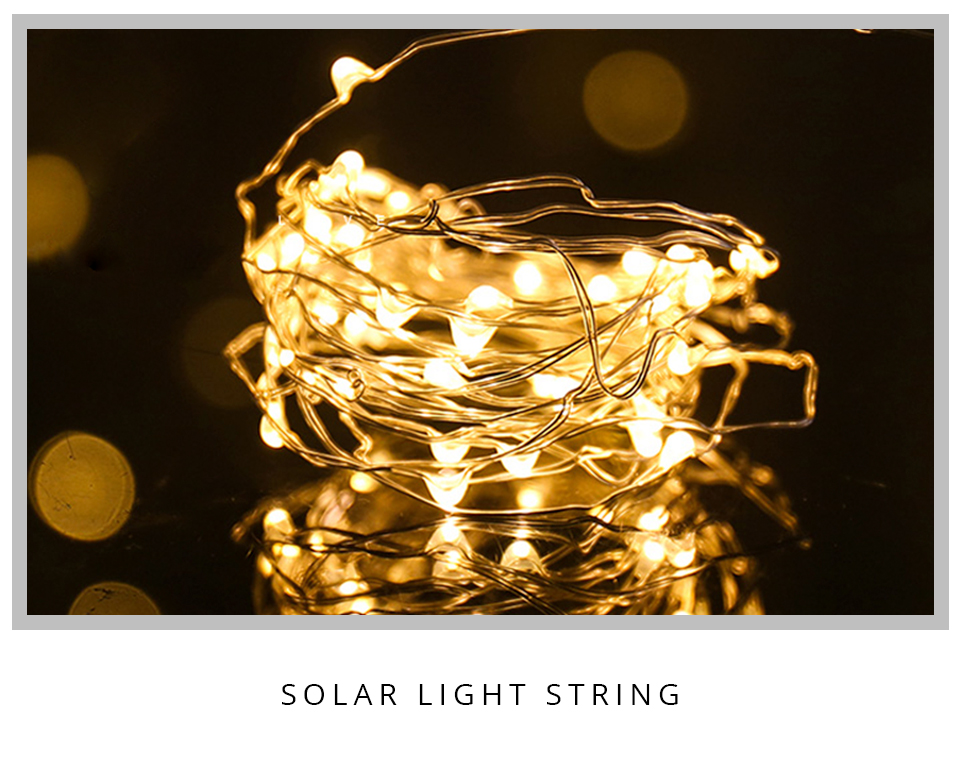 10M 20M Solar Power LED Garland Christmas Tree Fairy String Lights Chain Copper Wire Home Outdoor Christmas Holiday Decoration (1)