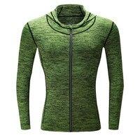 NEW Men Soccer Jerseys Running Jackets Fitness Sports Coat Football Training Gym Corset Hooded Thin Reflective