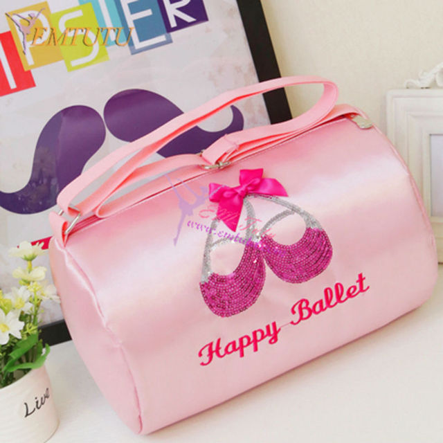 Waterproof Crossbody S Ballet Dance Bags With Compartments Ballerina Cute Pink Bag For Child