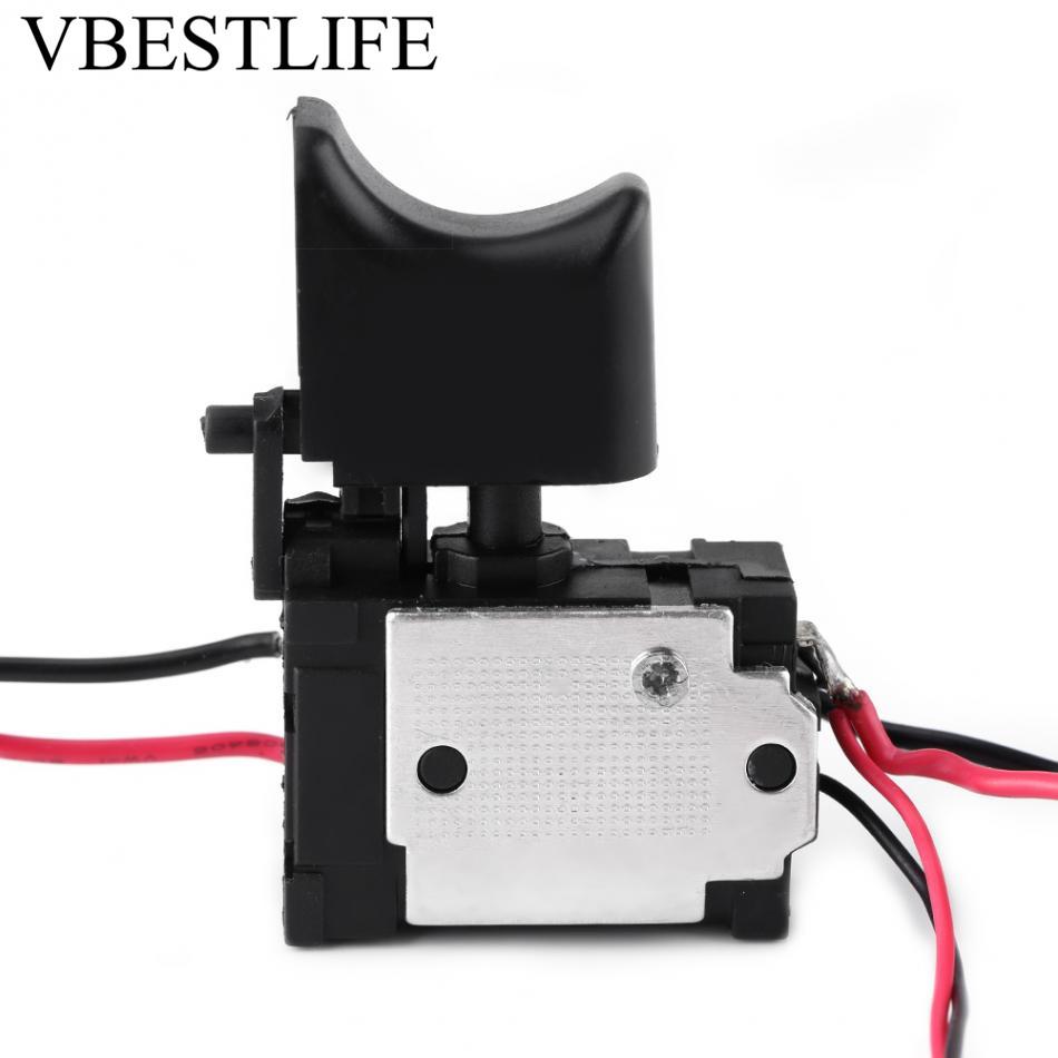 7.2 V - 24 V Drill Speed Controller Drill Switch Lithium Battery Cordless Drill Speed Control Trigger Switch With Small Light