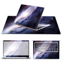 3 Sides Trendy Computer Protection Decal With Fashion Mouse Pad Mat Notebook Sticker Full Laptop Skin